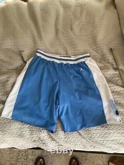1982 North Carolina Tar Heels UNC Sewn Jordan Eighty-Two 82 Collection Shorts L