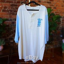 1982 Vtg Carolina Tar Heels Thin Shirt Henley Michael Jordan Med/Large 80s UNC