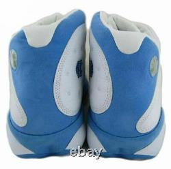2004 Nike Air Jordan 13 Retro UNC Basketball Shoe SZ 17 PE 310004-101 Tar Heels