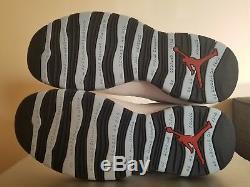 2005 Nike Air Jordan 10 Retro Ice Baby Blue UNC Tarheels Size 9 Shoes 310805-141