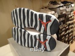 2005 Nike Air Jordan 10 X Retro Ice Baby Blue UNC Tarheels 310805-141 SZ 11.5 SB