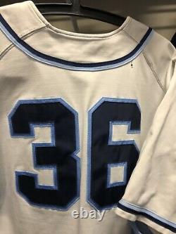 2011 Tar Heels Nike Team Signed Baseball Jersey Colin Moran North Carolina UNC