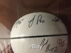 2014-2015 UNC North Carolina Tar Heels Team Signed Basketball