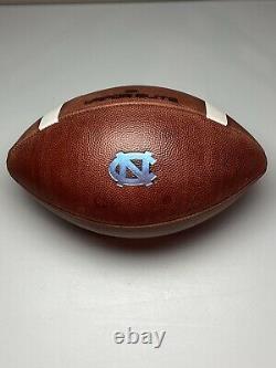 2016 UNC Tar Heels Game Ball Nike Vapor Elite University North Carolina