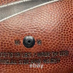 2016 UNC Tar Heels Game Used Nike Vapor Elite NCAA Football University ACC
