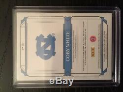 2019-20 National Treasures Collegiate Coby White RPA /99 UNC Tar Heels