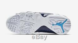 2019 Nike Air Jordan 9 Retro SZ 12 White Carolina Blue UNC Tarheels 302370-145