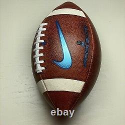 2019 UNC Tar Heels Game Used Nike Vapor Elite NCAA Football North Carolina ACC