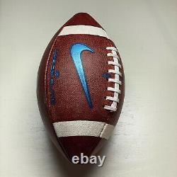 2020 UNC Tar Heels Game Ball Nike Vapor Elite NCAA Football ACC University