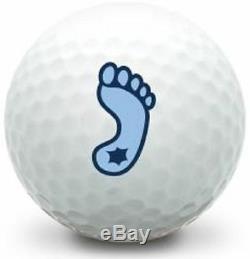 3 Dozen Nike Mix Mint AAAAA (UNC Tar Heels Foot Logo) Golf Balls