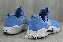 45 Nike Free Trainer 8 UNC North Carolina Tarheels Shoes AR0407-400 8.5 10 10.5