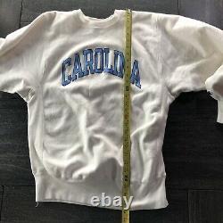 80s Champion Reverse Weave Sweatshirt USA Carolina UNC XL Tarheels Jordan