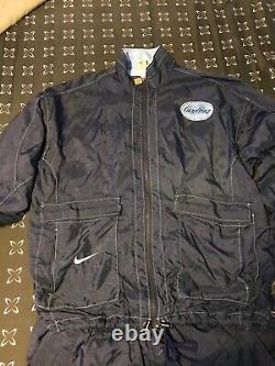 90s UNC North Carolina Tarheels basketball team issue Windbreaker Suit Men's XL