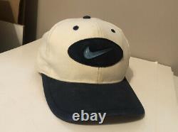 90s Vintage Nike North Carolina Tar Heels Hat Cap Nike Swoosh Logo UNC