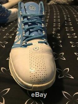 Air Jordan CP3 IV UNC Tarheels basketball Player Edition Promo sample sz 14 RARE