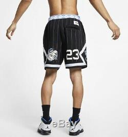 Air Jordan Retro UNC Tar Heels Fleece Basketball Shorts Men's Size Medium New