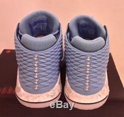 Air Jordan XXXII 32 Tar Heels Mens AA1253-406 Unc Blue Basketball Shoes Size 13