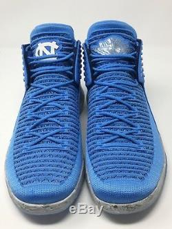Air Jordan XXXII 32 UNC Tar Heels North Carolina Blue Grey AA1253 406 Size 11