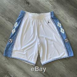 Authentic Jordan North Carolina Tar Heels 38 XL Shorts Jersey UNC Last Dance