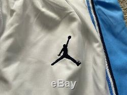 Authentic Jordan North Carolina Tar Heels Large Shorts Basketball UNC Last Dance