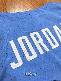Authentic Nike Jordan Unc North Carolina Tar Heels Ncaa Basketball Jersey XL
