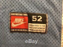 Authentic Nike UNC North Carolina Tar Heels Michael Jordan College Jersey 52 2XL