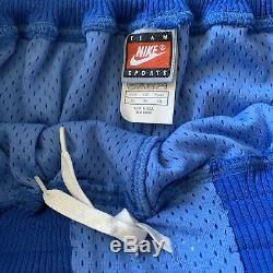 Authentic North Carolina Tar Heels Nike 40 2XL Shorts UNC Jersey Rare Vintage