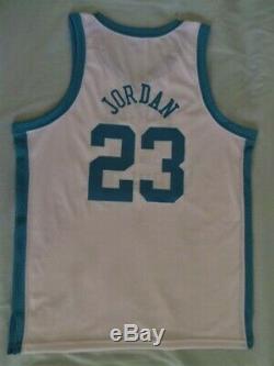 Authentic North Carolina Tar Heels UNC Michael Jordan Jersey sz 46 L XL USA NEW