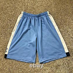 Carolina Basketball Shorts UNC Jordan Team Issued Tar Heels Men's Size XL +4