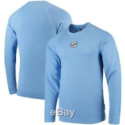 Carolina UNC Tar Heels Nike Jordan Fleece Crew Raglan Sweatshirt 4XL NWT Blue