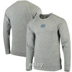 Carolina UNC Tar Heels Nike Jordan Fleece Crew Raglan Sweatshirt 4XL NWT Gray