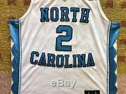 Coby White Signed Autograph UNC North Carolina Tarheels Jersey NCAA NBA Bulls