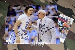 Cole Anthony & Roy Williams Jsa Signed 8x10 Photo Unc Tarheels Basketball Auto