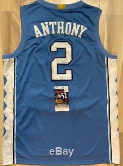 Cole Anthony Signed UNC North Carolina Tar Heels Jersey JSA COA (autograph-auto)