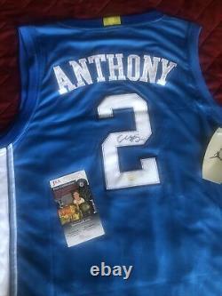 Cole Anthony autographed signed North Carolina Tar Heels Jersey Magic UNC Jsa