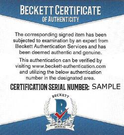 Dean Smith Autographed 11x14 Photo UNC Tar Heels Michael Jordan Beckett V62639