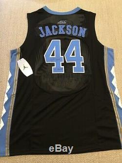 EXACT PROOF! JUSTIN JACKSON Signed Autographed UNC TAR HEELS Jersey 2017 Champs