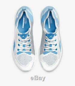 GO HEELS UNC x Jordan React Havoc North Carolina Tar Heels White/Blue Nike