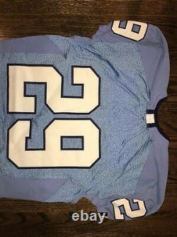 Game Worn Used Nike North Carolina Tar Heels UNC Football Jersey #29 Size 42