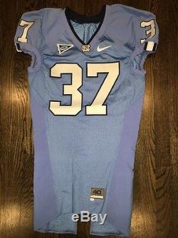 Game Worn Used Nike North Carolina Tar Heels UNC Football Jersey #37 Size 40