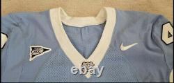 Game Worn Used Nike North Carolina Tar Heels UNC Football Jersey #48 Size 48