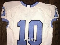 Game Worn Used North Carolina Tar Heels UNC Football Jersey NFL #10 TRUBISKY