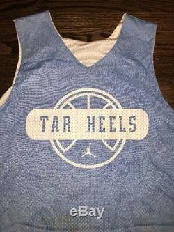 Game Worn Used UNC North Carolina Tar Heels Basketball Jersey #24 Reversible XXL
