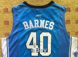 Harrison Barnes Signed Autograph UNC Tar Heels Jersey NCAA NBA USA
