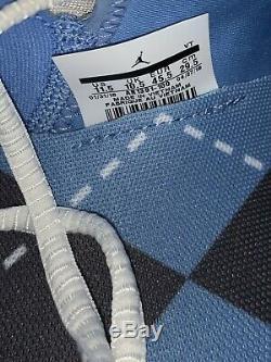 JORDAN Men's Trainer 3 UNC North Carolina TAR HEELS AR1391-100 Shoes(Size 11.5)