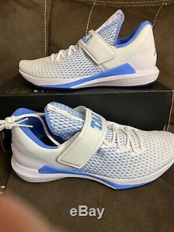 JORDAN Men's Trainer 3 UNC North Carolina TAR HEELS AR1391-100 Shoes Sz 12