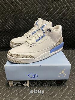 Jordan 3 UNC Size 12.5