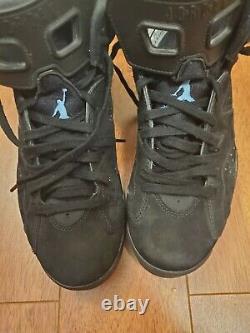 Jordan 6 Retro Tar Heels UNC Size 9.5 384664-006