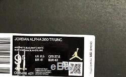 Jordan Brand Nike Men's Sneakers Size 9.5 Alpha 360 TR UNC Tar Heels Training