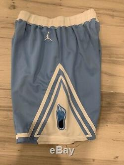 Jordan Brand UNC Tarheels mens shorts Large Rare Vintage Michael Jordan Nike